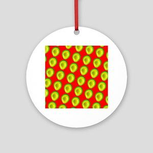 Avocado Fiesta for Hector Ornament (Round)