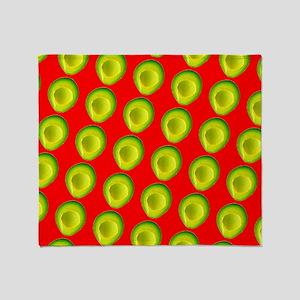 Avocado Fiesta for Hector Throw Blanket