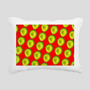 Avocado Fiesta for Hecto Rectangular Canvas Pillow