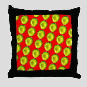 Avocado Fiesta for Hector Throw Pillow