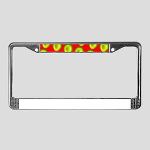 Avocado Fiesta for Hector License Plate Frame
