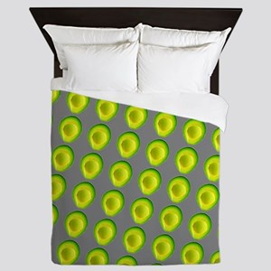 Chic Avocados Gillian's Fave Queen Duvet