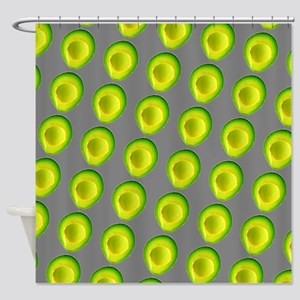 Chic Avocados Gillian's Fave Shower Curtain