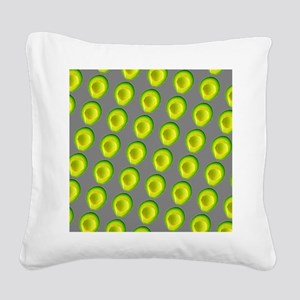 Chic Avocados Gillian's Fave Square Canvas Pillow