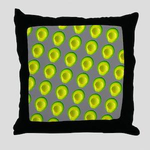 Chic Avocados Gillian's Fave Throw Pillow