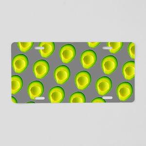 Chic Avocados Gillian's Fav Aluminum License Plate