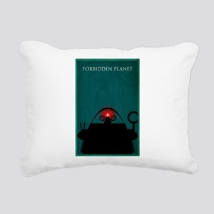 Forbidden Planet Minimal Poster Design Rectangular