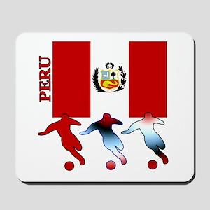 Peru Soccer Mousepad