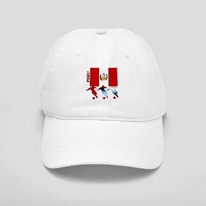 Peru Soccer Cap
