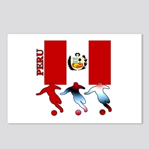 Peru Soccer Postcards (Package of 8)