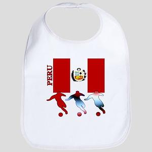 Peru Soccer Bib