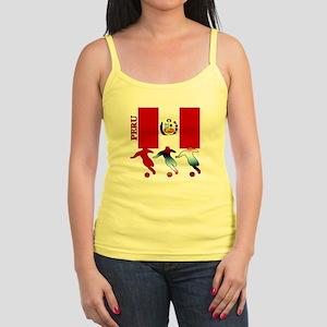 Peru Soccer Jr. Spaghetti Tank
