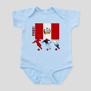 Peru Soccer Infant Bodysuit