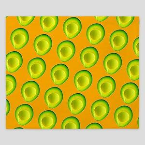 Delish Avocado Delia's Fave King Duvet
