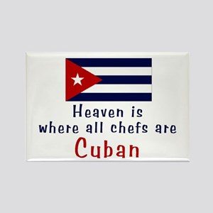 Cuban Chefs Rectangle Magnet
