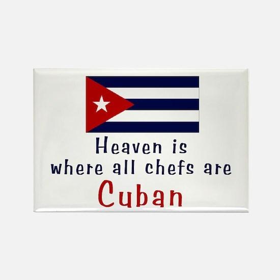 Cuban Chefs Rectangle Magnet
