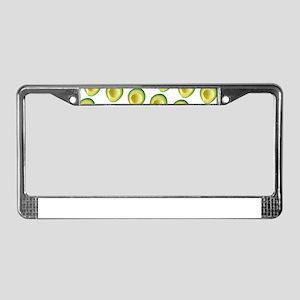 Avocado Frenzy George's Fave License Plate Frame