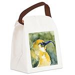 Hawaiian Yellow Honeycreeper Canvas Lunch Bag
