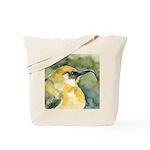 Hawaiian Yellow Honeycreeper Tote Bag