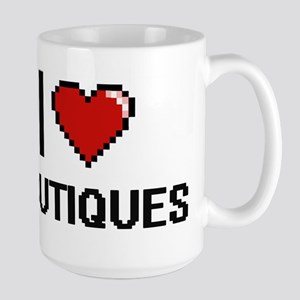I Love Boutiques Digitial Design Mugs