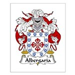 Albergaria Family Crest  Small Poster