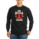 Alardo Family Crest Long Sleeve Dark T-Shirt