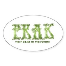 Frak Oval Sticker