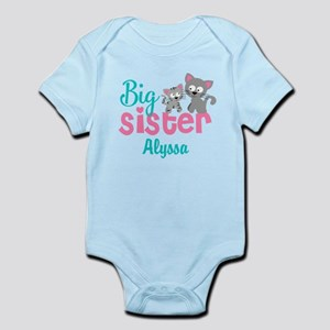 Big sister kitty personalized Body Suit