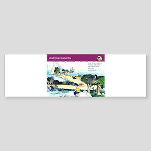 Use you imagination Bumper Sticker