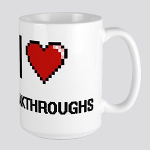 I Love Breakthroughs Digitial Design Mugs