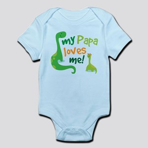My Papa Loves Me Infant Bodysuit