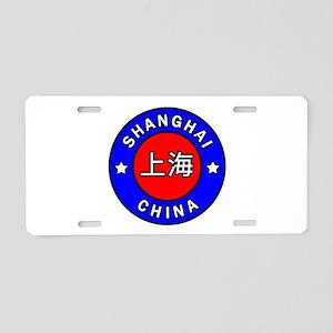 Shanghai China Aluminum License Plate