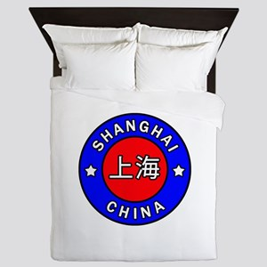Shanghai China Queen Duvet