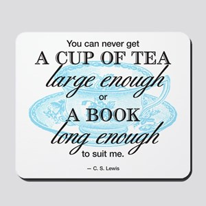 Tea Quote Mousepad