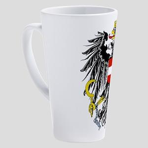 Austria Coat Of Arms 17 Oz Latte Mug