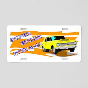 Super Stock Nirvana Racing Aluminum License Plate