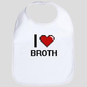 I Love Broth Digitial Design Bib