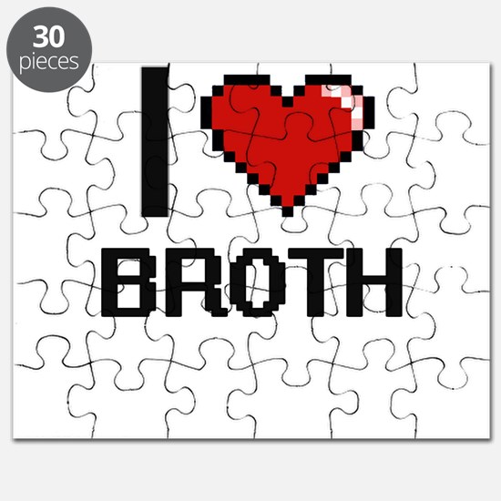 I Love Broth Digitial Design Puzzle