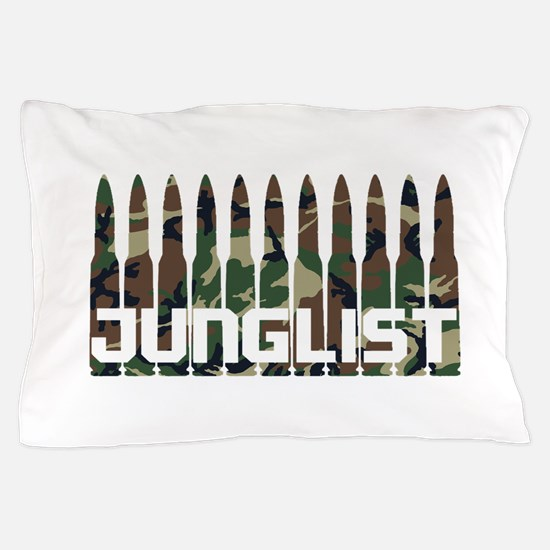 Junglist Camo1.png Pillow Case
