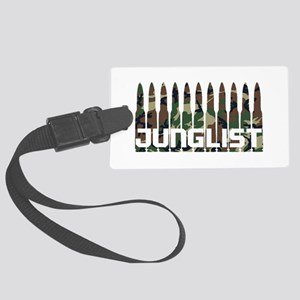 Junglist Camo1 Large Luggage Tag