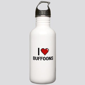 I Love Buffoons Digiti Stainless Water Bottle 1.0L