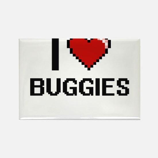 I Love Buggies Digitial Design Magnets