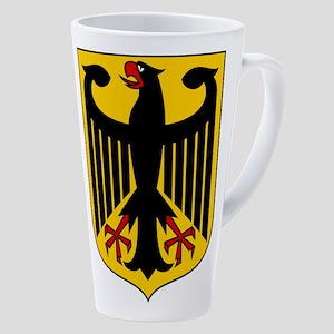 German Coat Of Arms 17 Oz Latte Mug