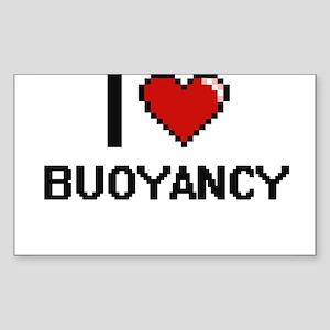 I Love Buoyancy Digitial Design Sticker