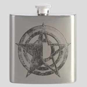 Metal Star Flask