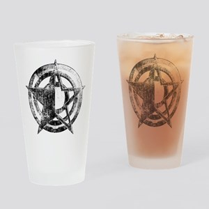 Metal Star Drinking Glass