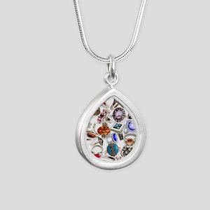 jewelry rings Silver Teardrop Necklace