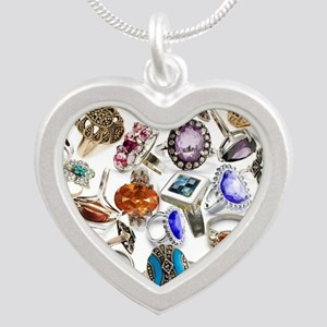 jewelry rings Silver Heart Necklace