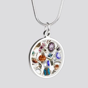 jewelry rings Silver Round Necklace