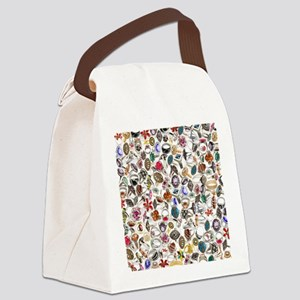 jewelry rings Canvas Lunch Bag